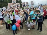 9 мая сотрудники и обучающиеся школы приняли участие в сельском празднике, посвященному Дню Победы