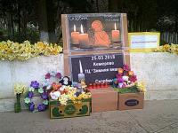 """28.04.18 сотрудники школы приняли участие в акции """" Кемерово, мы с тобой""""."""