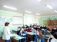 18 февраля в 8 и 9 классах прошли беседы, направленные на профессиональное самоопределение учащихся.