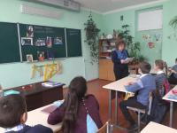 """12 апреля прошёл классный час """"Гагаринский урок.Космос - это мы"""""""