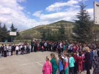 14 апреля среди обучающихся и сотрудников школы прошли учения по антитеррору.