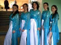 """20 апреля обучающиеся 11 класса приняли участие в муниципальном этапе """"Крымский вальс""""."""