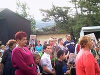 9 мая обучающиеся и педагоги школы приняли участие в сельском мероприятии, посвященном Дню Победы.