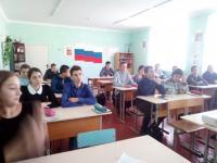 28 ноября в 1-11 классах прошел урок Мужества, посвященный жизни и деятельности А.В. Суворова и Г.К. Жукова