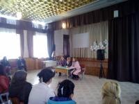 22.03.19 в школе состоялось общешкольное родительское собрание