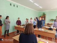 Ученическим самоуправлением был проведен рейд по внешнему виду обучающихся нашей школы