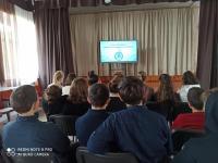 27.04.2021 в нашей школе был проведен Всероссийский урок генетики